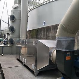 洁琪污水公司泵站除臭