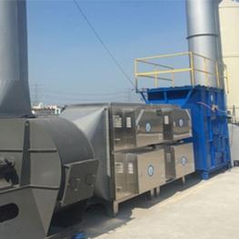 嘉定印刷厂废气处理